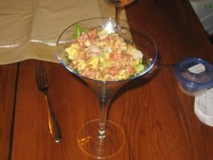 Appetizer Course - Battle Nut Tuna Tartare